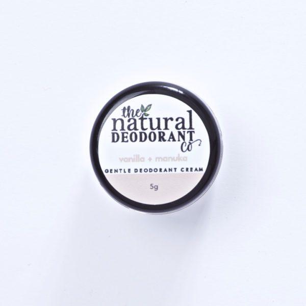 The Natural Deodorant Co Gentle Vanilla & Manuka 5g