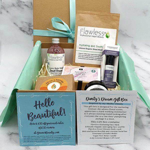 Greener Beauty Dimity's Dream Gift Box