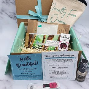 Greener Beauty Melanie's Luxury Makeup Gift Box