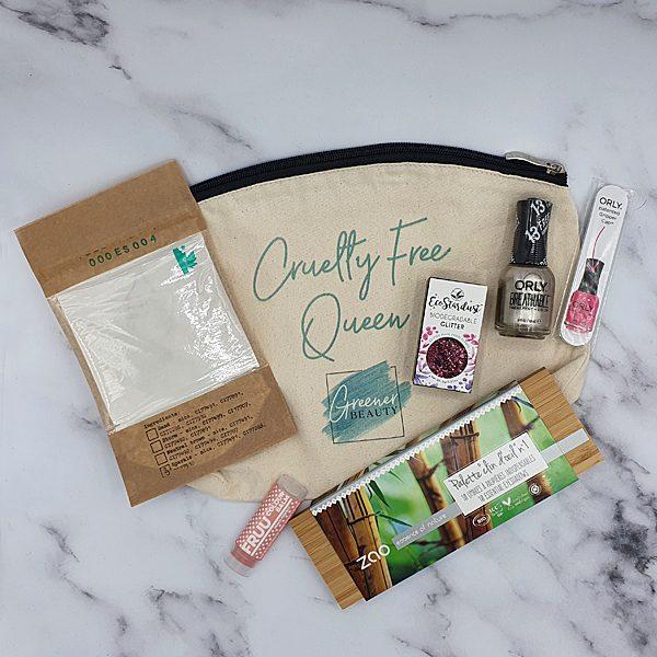 Greener Beauty Melanie's Luxury Makeup Gift Box