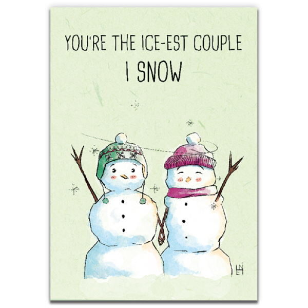 1 Tree Cards The Festive Collection Icest Couple