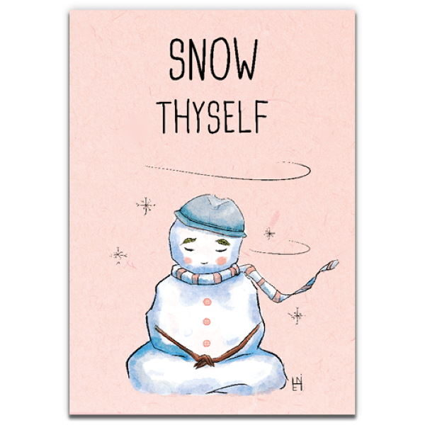 1 Tree Cards The Festive Collection Snow Thyself