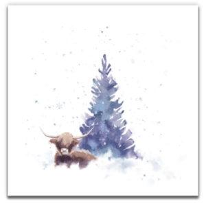 1 Tree Cards Tree Wishes Festive Box