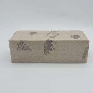 Greener Beauty Eco Brown Paper Gift Wrap