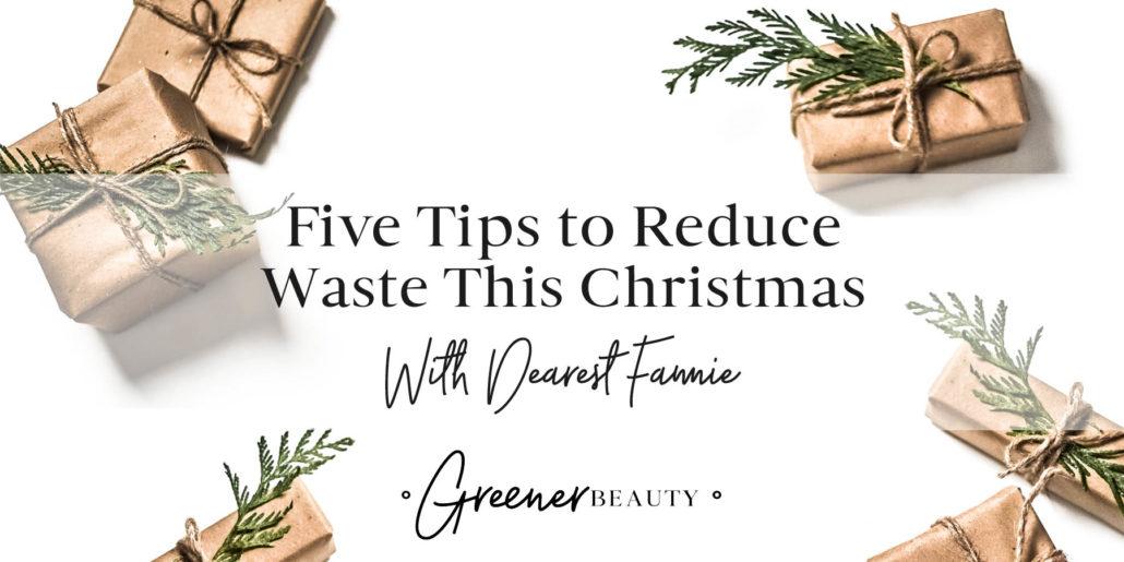 Reduce Christmas Waste