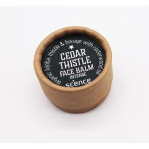 Scence Cedar Thistle Face Balm