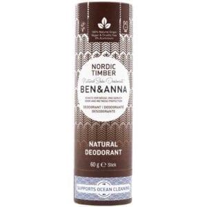 Ben & Anna Nordic Timber Natural Deodorant