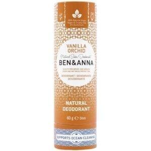 Ben & Anna Vanilla Orchid Natural Deodorant