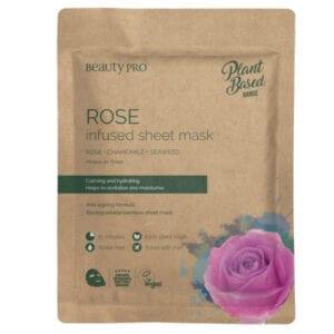 Beauty Pro Natura Pro Rose Infused Sheet Mask