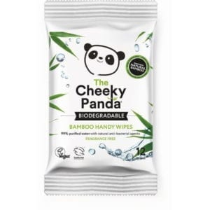 Cheeky Panda Biodegradable Bamboo Handy Wipes
