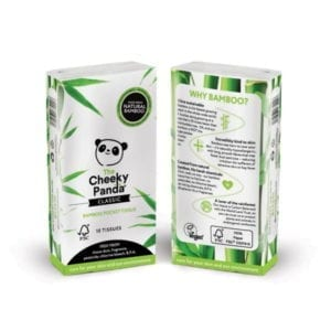Cheeky Panda Bamboo Pocket Tissue