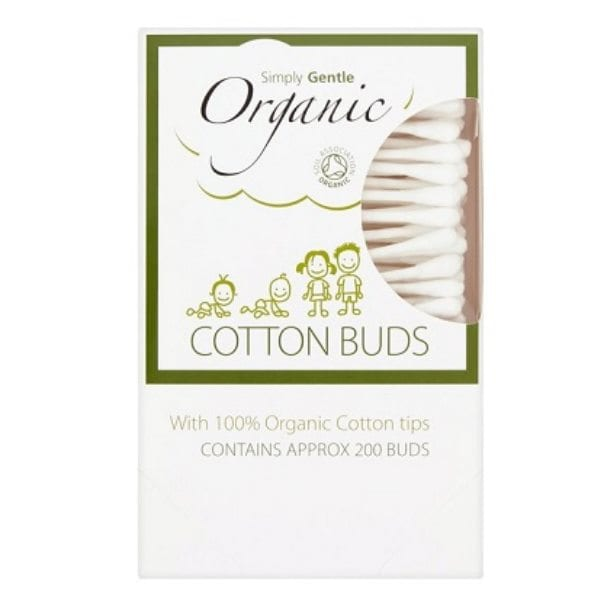 Simply Gentle Biodegradable Organic Cotton Buds