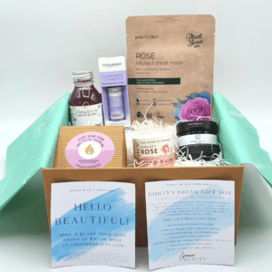 Dimity Gift Boxed with candle