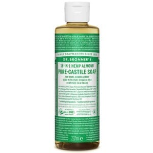 Dr Bronner Almond Pure Castile Liquid Soap
