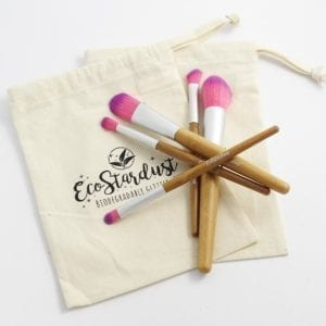 EcoStarDust Bio-Glitter Brush Set