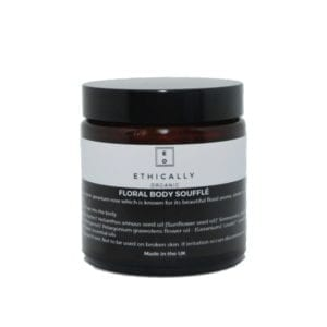 Ethically Organic Floral Body Soufflé