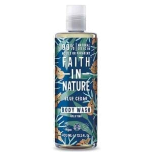 Faith In Nature Blue Cedar Body Wash for Men