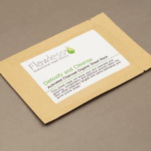 Flawless Detoxify & Cleanse Facial Sheet Mask
