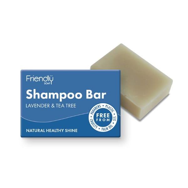 Friendly Soap Lavender and Tea Tree Shampoo Bar