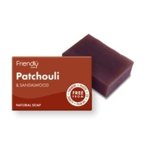 Friendly Soap Patchouli and Sandalwood Soap