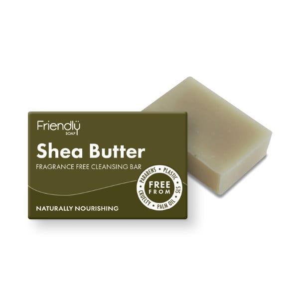 Friendly Soap Shea Butter Facial Cleansing Bar