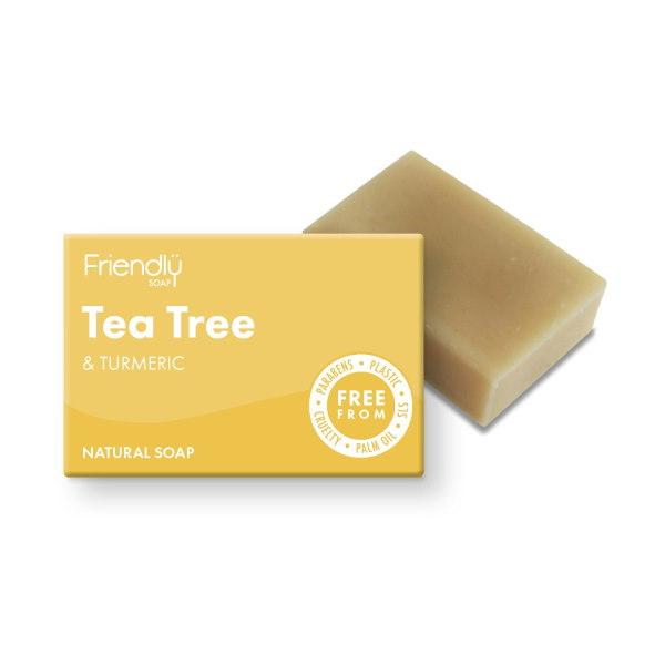 Friendly Soap Tea Tree and Turmeric