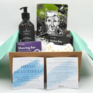 Gentlemens gift box Contents