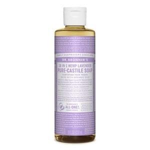 Dr Bronner Lavender Pure Castile Liquid Soap