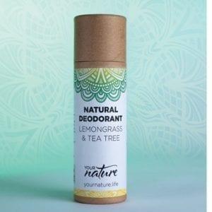 Your Nature Lemongrass & Tea Tree Deodorant