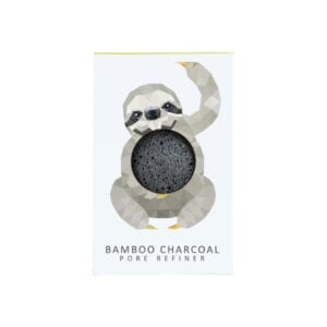 Mini Pore Refiner Rainforest Sloth with Bamboo Charcoal