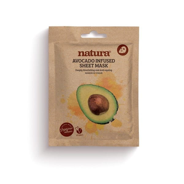 Natura by Beauty Pro Avocado Infused Sheet Mask