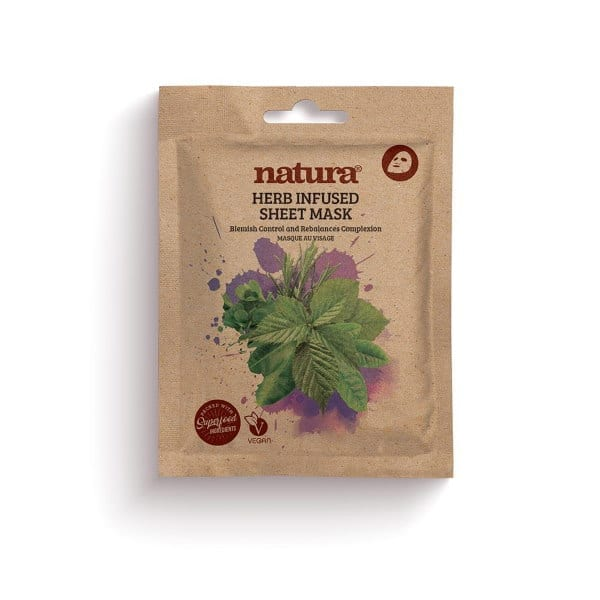 Natura by Beauty Pro Herb Infused Sheet Mask
