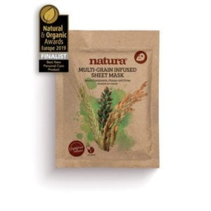 Natura by Beauty Pro Multi-Grain Infused Sheet Mask