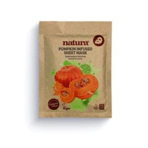 Natura by Beauty Pro Pumpkin Infused Sheet Mask