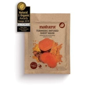 Natura Turmeric Infused Sheet Mask