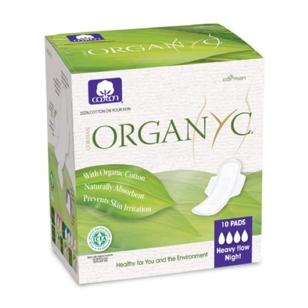 Organ(y)c Cotton Sanitary Pads Heavy Flow