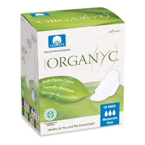 Organ(y)c Cotton Sanitary Pads Moderate Flow