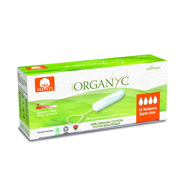 The Organ(y)c Cotton Tampons Super Plus