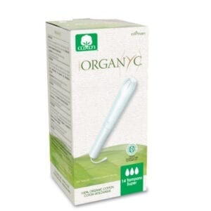 Organ(y)c Cotton Tampons with Applicator Super