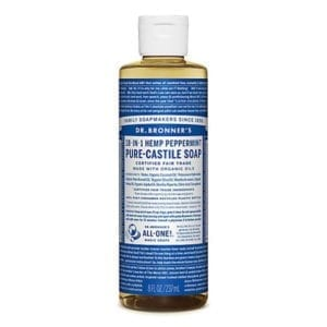 Dr Bronner Peppermint Pure Castile Liquid Soap