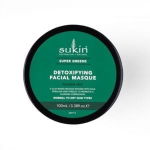 Sukin Super Greens Detoxifying Clay Masque