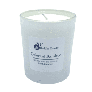 The Buddha Beauty Company Bamboo & Olive Candle