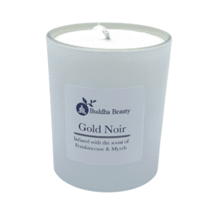 The Buddha Beauty Company Gold Noir Candle