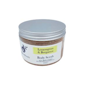 The Buddha Beauty Company Lemongrass and Bergamot Himalayan & Sea Salt Body Scrub