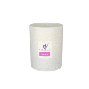The Buddha Beauty Company Serenity Rose Geranium Candle
