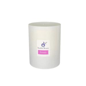 The Buddha Beauty Company Serenity Rose Geranium Candle