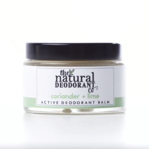 The Natural Deodorant Co Active Coriander & Lime