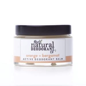 The Natural Deodorant Co Active Orange & Bergamot