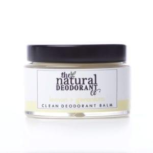The Natural Deodorant Co Clean Lemon & Geranium