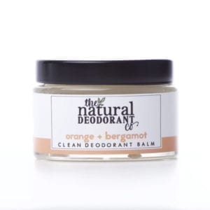 The Natural Deodorant Co Clean Orange & Bergamot
